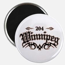 Winnipeg 204 Magnet