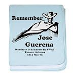 Remember Jose baby blanket