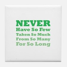 Never Tile Coaster