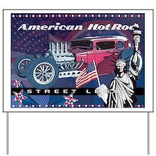 American HotRod Yard Sign