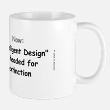 Intelligent Design Extinction Mug