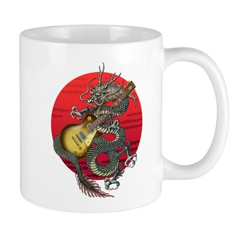 dragon LesPaul Mug