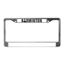 Funny Field License Plate Frame