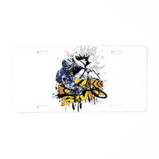 BMX Underground Aluminum License Plate
