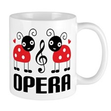 Opera Music Ladybug Mug