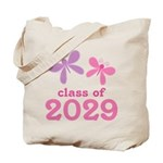 2029 Girls Graduation Tote Bag