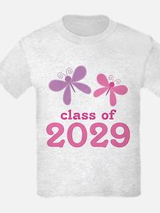 2029 Girls Graduation T-Shirt
