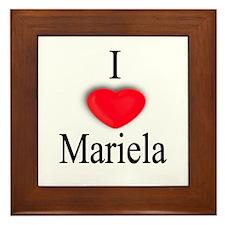 Mariela Framed Tile