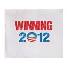 winning 2012 Throw Blanket
