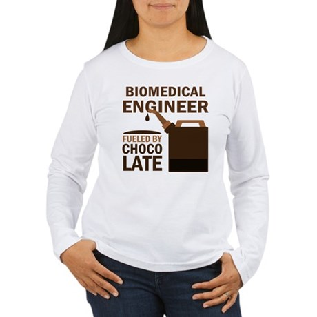 Gift for Biomedical Engineer Women's Long Sleeve T