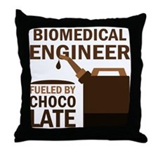 Funny Biomedical Engineer Throw Pillow
