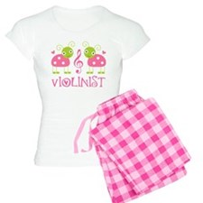 Violin Music Ladybug Women's Light Pajamas