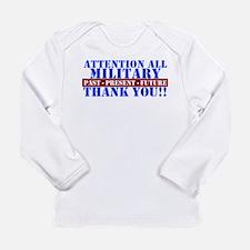 Unique Military Long Sleeve Infant T-Shirt