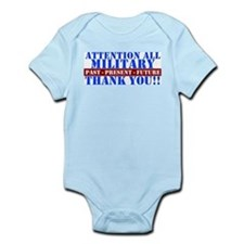 Cute Thank you Infant Bodysuit