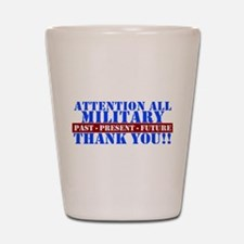 Unique Thank you Shot Glass
