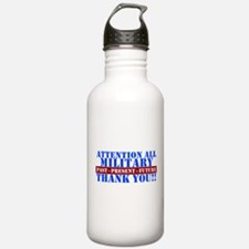 Unique Thank you Sports Water Bottle