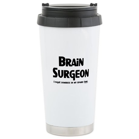 Brain Surgeon Gamer Stainless Steel Travel Mug