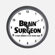 Brain Surgeon Gamer Wall Clock