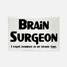 Brain Surgeon Gamer Rectangle Magnet