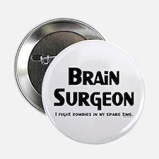 """Brain Surgeon Gamer 2.25"""" Button"""