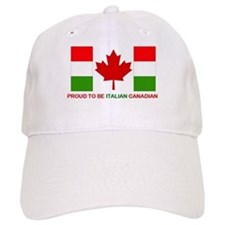 Proud to be Italian Canadian Baseball Cap