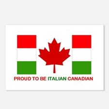 Proud to be Italian Canadian Postcards (Package of