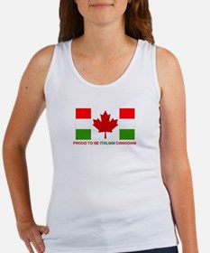 Proud to be Italian Canadian Women's Tank Top