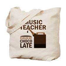 Funny Music Teacher Tote Bag