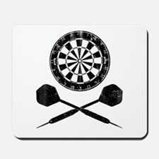 Vintage Darts Mousepad