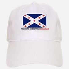 Proud to be Scottish Canadian Baseball Baseball Cap