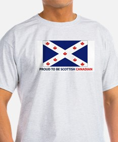 Proud to be Scottish Canadian T-Shirt