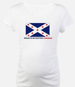 Proud to be Scottish Canadian Shirt
