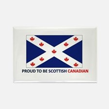 Proud to be Scottish Canadian Rectangle Magnet