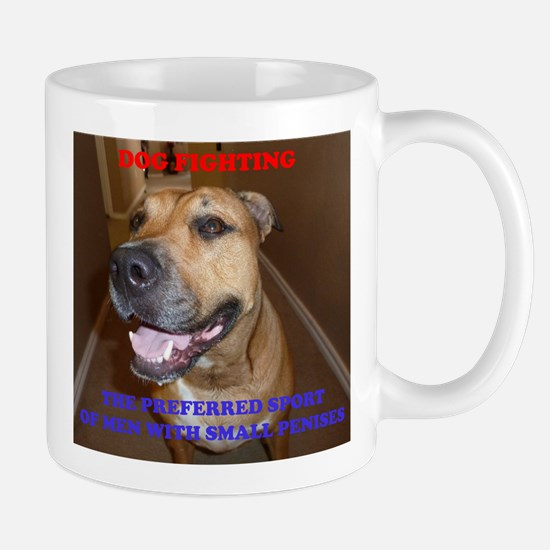 Dog Fighting Mug