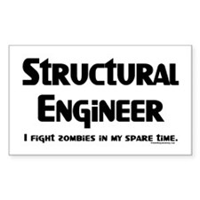 Structural Zombie Fighter Decal