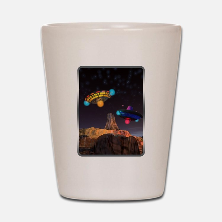 CE3K UFOs V2 Shot Glass