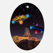 CE3K UFOs V2 Ornament (Oval)