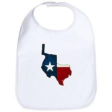 Unique Texas state flag Bib