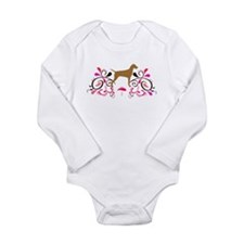 Red Headed Weims! Long Sleeve Infant Bodysuit