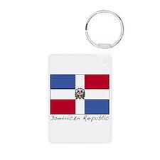 Dominican Republic (Flag) Keychains