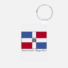 Dominican Republic (Flag) Keychains