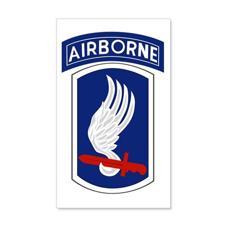 173rd Airborne Bde 22x14 Wall Peel