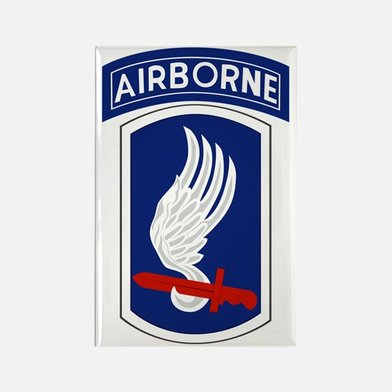 173rd Airborne Bde Rectangle Magnet