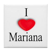 Mariana Tile Coaster