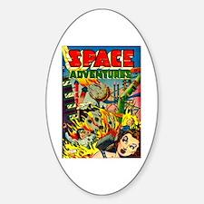 Space Adventures Sticker (Oval)