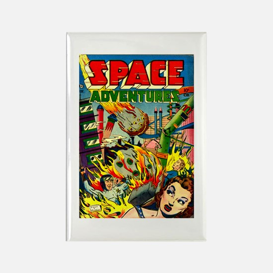 Space Adventures Rectangle Magnet