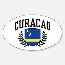 Curacao Sticker (Oval)