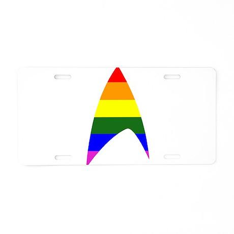 Star Takei Aluminum License Plate