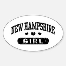 New Hampshire Girl Decal