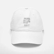 Hebrew Alphabet Baseball Baseball Cap